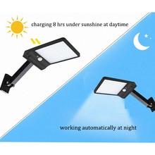 48 LED Solar Light 3 Mode Waterproof Outdoor remote control rotate bracket solar street light Garden Wall Fence desk lamp newest