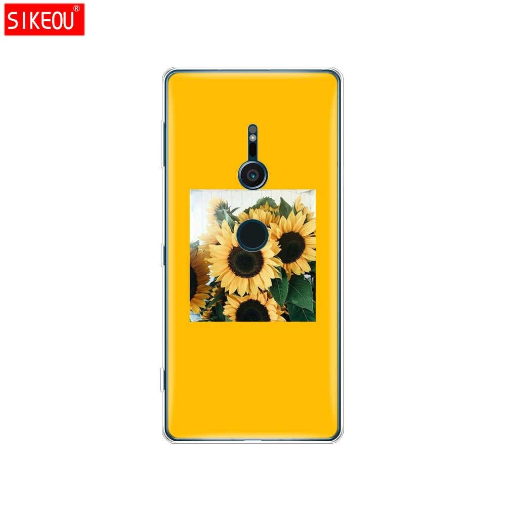 Sprawa dla sony xperia XA1 XA2 ultra plus L1 L2 XZ1 XZ2 kompaktowy XZ etui premium pokrywa silikonowa muszle telefonu projektowanie mody sztuki