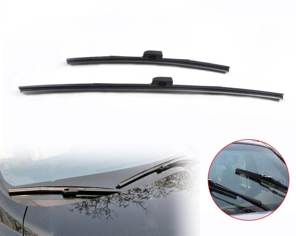 Dwcx 26 17 frameless steel rubber rain window windshield wiper blade for honda