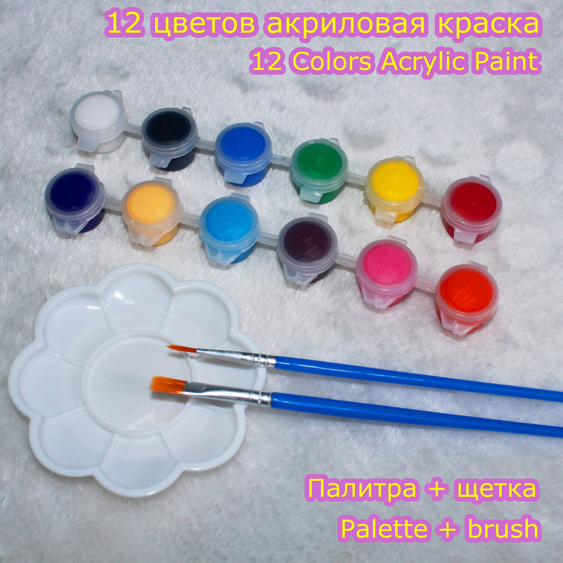 Oil Paint Nail Art