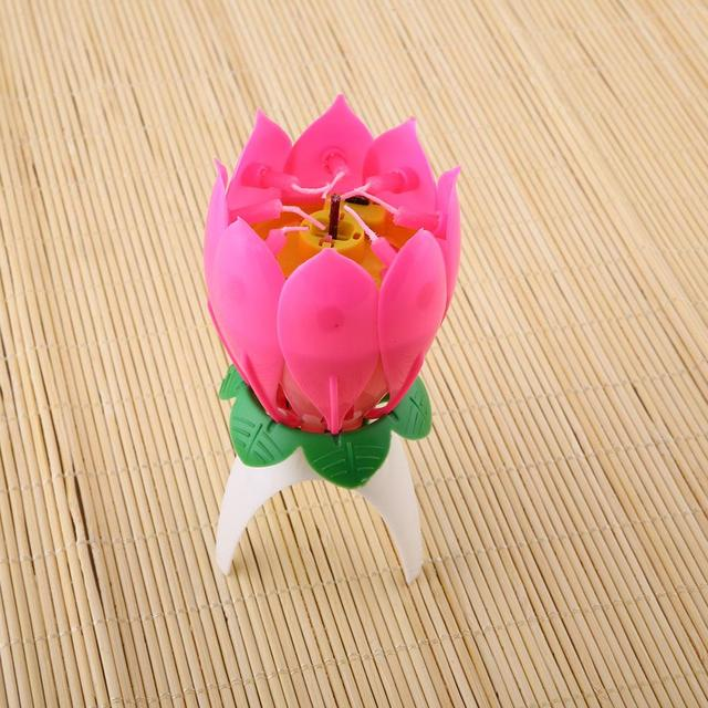 Amazing romantic musical blossom lotus flower happy birthday party amazing romantic musical blossom lotus flower happy birthday party wedding music candle ligths mightylinksfo