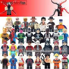 Single Sale WM306 Robocop Custom Made Mini Dolls Ghost Of Sparta Kratos Ultimate Simpson Building Blocks Children Gifts Toys(China)