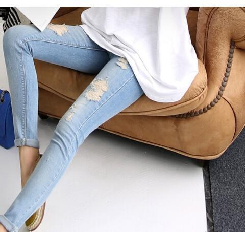 Dimensioni Di Maternità Jeans Pantaloni Per Le Donne Incinte Vestono Per L'estate 2018 Tute Di Maternità Mutandine Gravidanza Abbigliamento