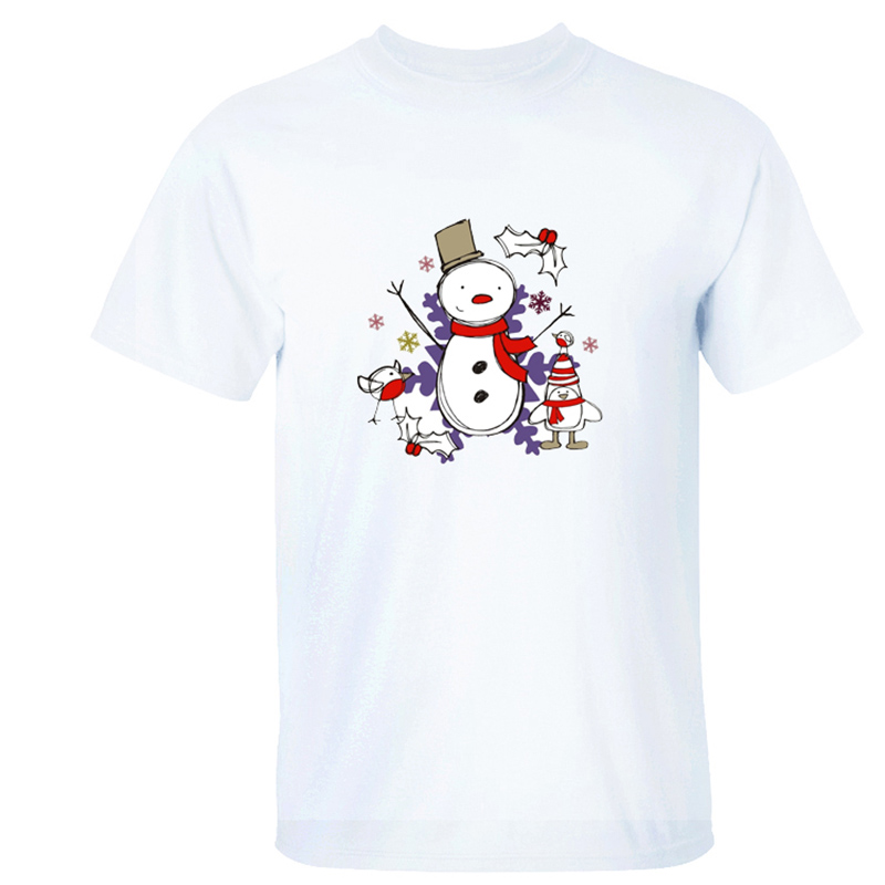 Newest Christmas Snowman Santa Claus 3d print T Shirt Men Women 2018 Christmas Gift Short Sleeve T-shirts Casual Cheap Tops Tees