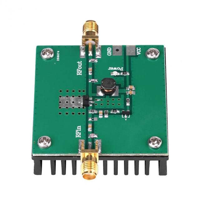US $16 1 30% OFF|1PC 433MHz RF Power Amplifier 5W SMA Connector for 380  450MHz Remote Transmitter Broadband RF Low Noise Amplifier Module-in Tool