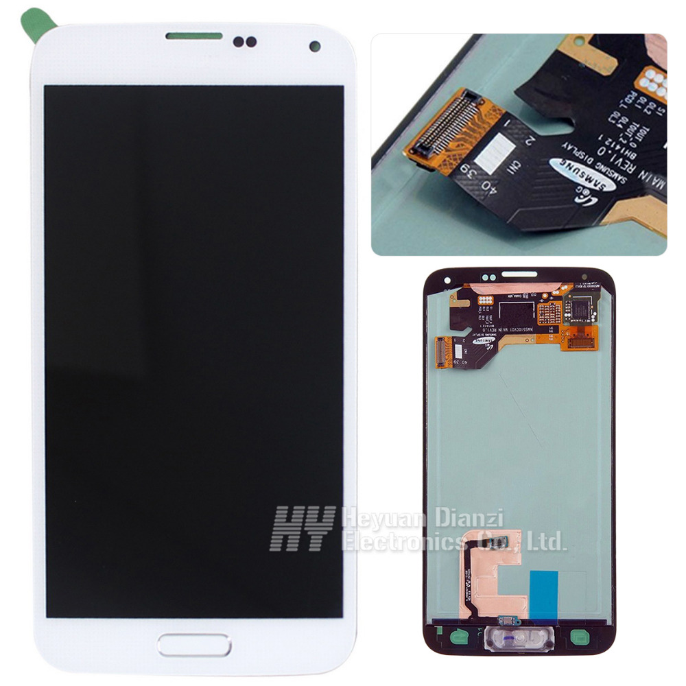 100 Original for Samsung Galaxy S5 G900F M A P T V LCD display touch screen