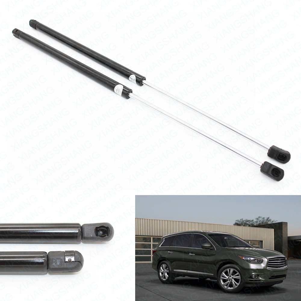 2pcs Front Hood Bonnet Auto Gas Spring Prop Lift Support