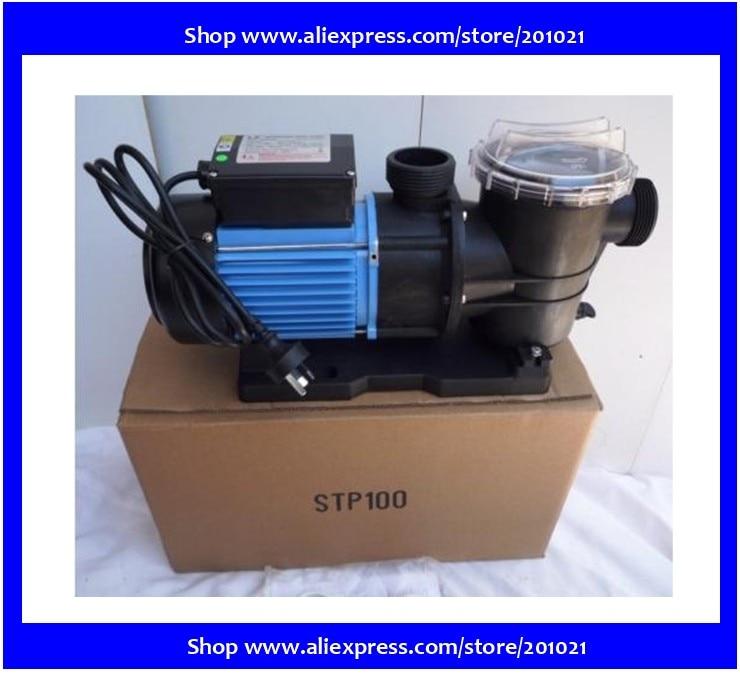 Spa, piscine, pompe 1.0HP avec filtration et pompe de piscine spa nage STP100