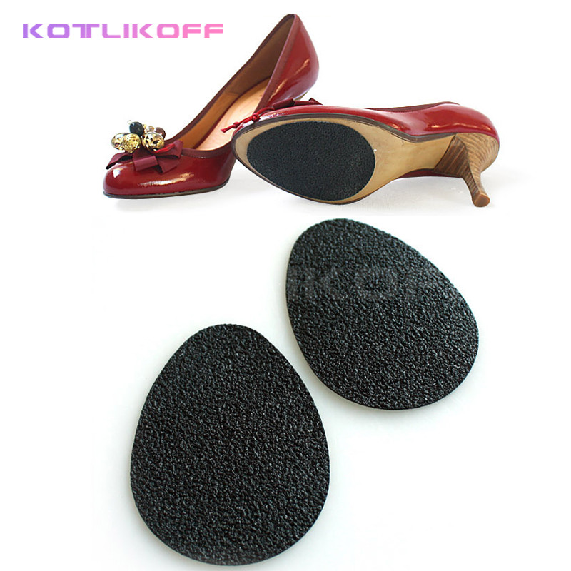 KOTLIKOFF 4 Pair Non Slip Non Sound High Heels Pad forefoot cushions insoles Anti Skid Shoes Mute Pads Foot Care insoles