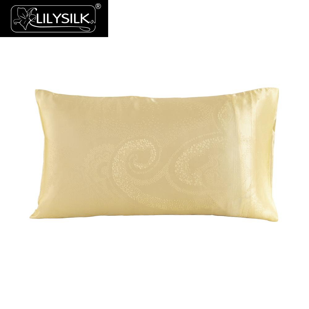Lilysilk Terse Silk Pillowcase 19 Momme 100 Pure Mulberry