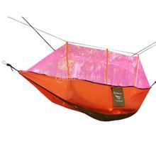 1 Шт. Двойной Гамак Дерево 2 Человек Патио Качели Кровать Открытый Кемпинг Палатка с Москитной сеткой