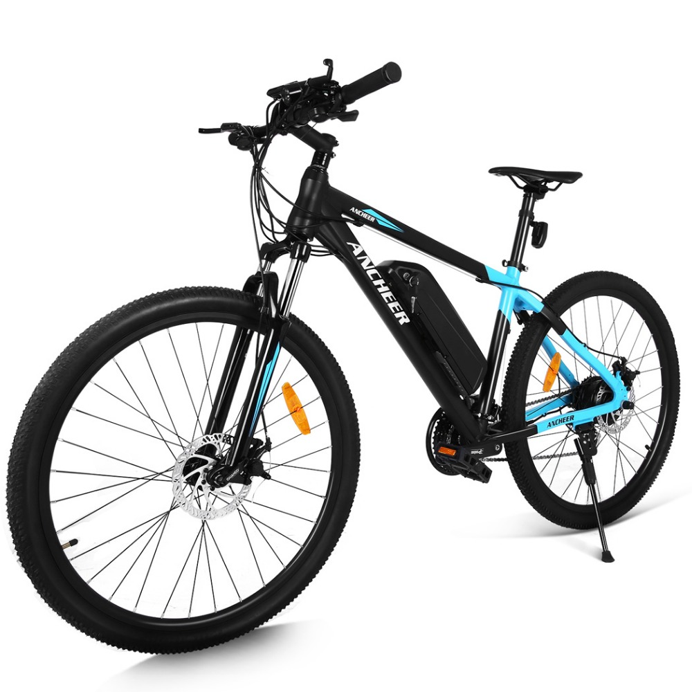 ancheer 27 5 inch 350w 24 speed electric mountain bike. Black Bedroom Furniture Sets. Home Design Ideas