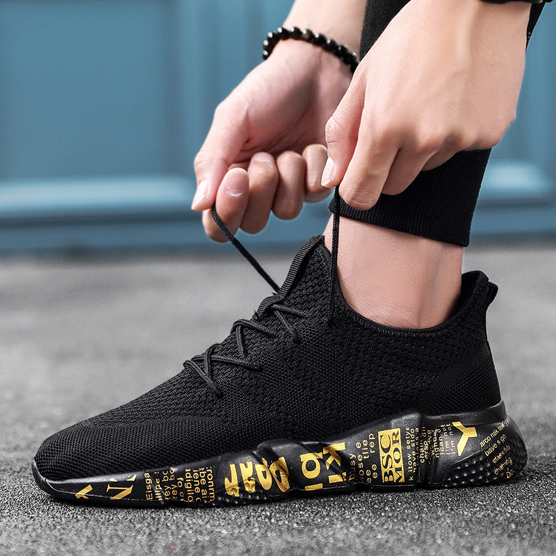 Bomlight Breathable Walking Shoes Men
