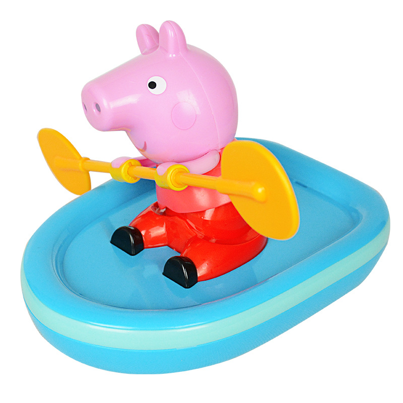 Peppa pig Classic Toys bath toy  boating baby infant child bathing water toys boy girl Toy for children birthday giftPeppa pig Classic Toys bath toy  boating baby infant child bathing water toys boy girl Toy for children birthday gift