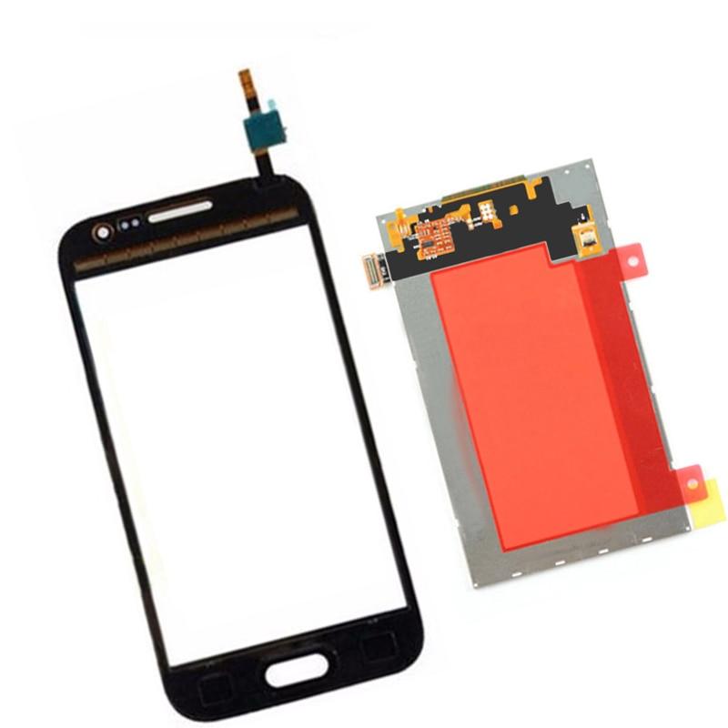 imágenes para Panel de la Pantalla LCD Monitor + Pantalla Táctil Digitalizador Sensor de Cristal negro Para Samsung Galaxy CORE Primer G361F G361