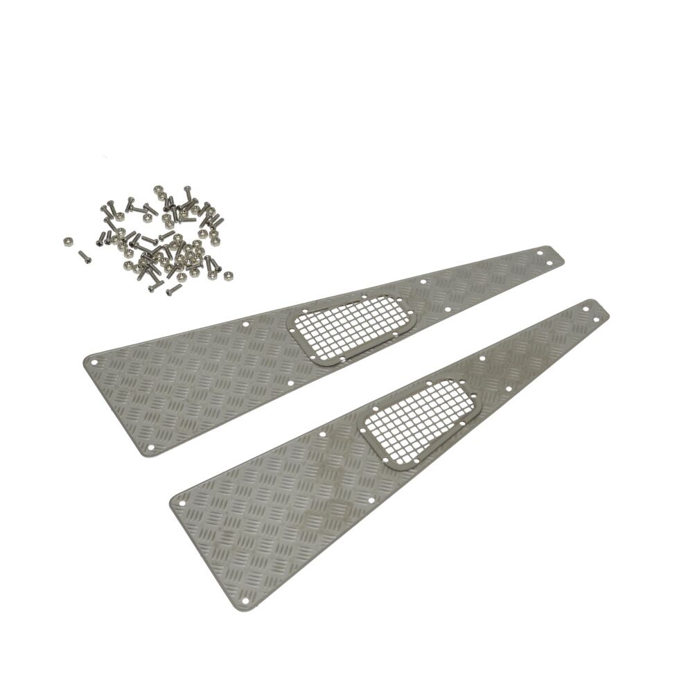 Parrilla de admisión de placa antideslizante de acero inoxidable RC - Juguetes con control remoto - foto 5