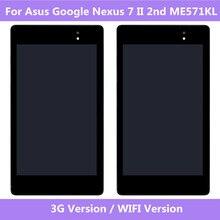 ASUS המקורי מסך LCD תצוגת מסך מגע Digitizer עצרת עבור Asus Google Nexus 7 השני 2nd 2013 ME571KL 3G wifi גרסה
