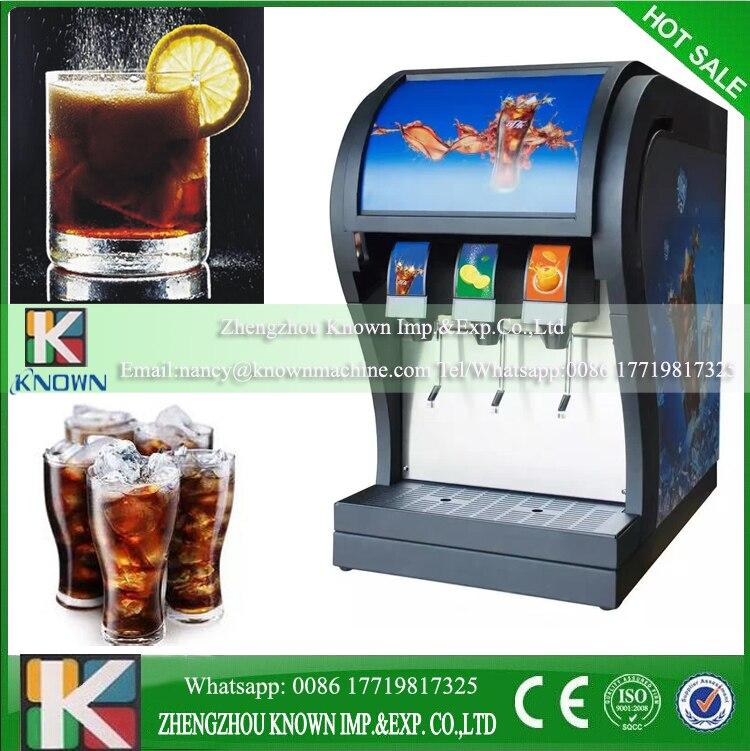 Commerical coke fountain dispenser R410a 3pcs valves coke dispenser coke vending machine for sale фото