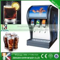 Commerical coke fountain dispenser R410a 3pcs valves coke dispenser coke vending machine for sale