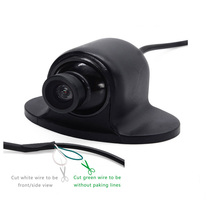 Blind Area HD Car Camera Forward-Looking Side Rear View Small Flying Saucer 360 Degree Rotation Reversing Camera