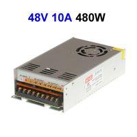 15 pcs DC48V 10A 480 W Alimentation à découpage Adaptateur Pilote Transformateur Pour CCTV Caméras de Sécurité LCD Moniteur