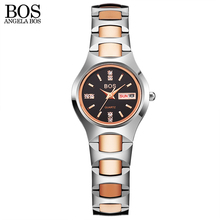 New Classic Lovers Tungsten Steel font b Watches b font font b Couple b font Luxury
