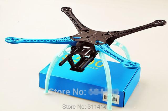 1set s500 sk500 gf glass fiber four axis qudcopter frame high landing gear for dji f450