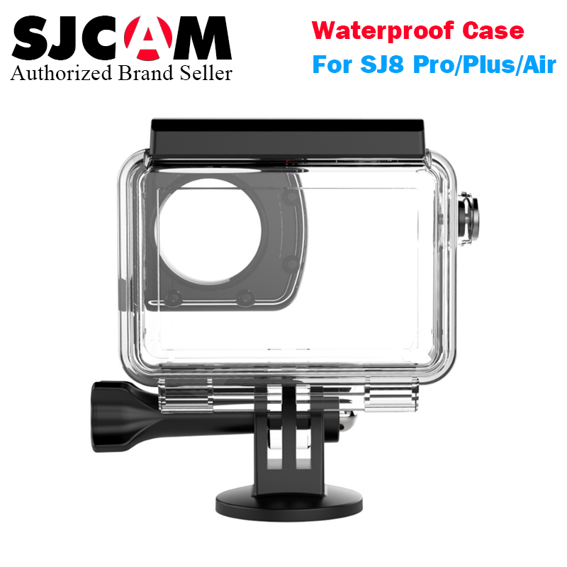 SJCAM SJ8 pro/SJ8 plus/SJ8 air Waterproof Case Underwater 30M Dive Housing Case for SJCAM SJ8 Series Action Cameras sjcam sj8 pro белый