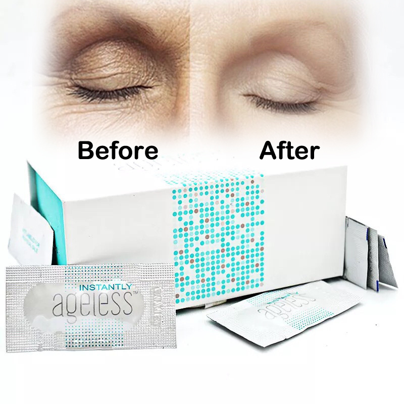 100pcs/box Jeunesse Instantly Ageless Anti-aging Anti Wrinkle Eye Cream Argireline Face Lift Serum Fast Effective Bag Remove