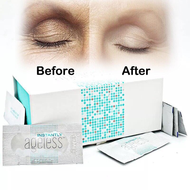 100pcs/box Jeunesse Instantly Ageless Anti-aging Anti Wrinkle Eye Cream Argireline Face Lift Serum Fast Effective Bag Remove