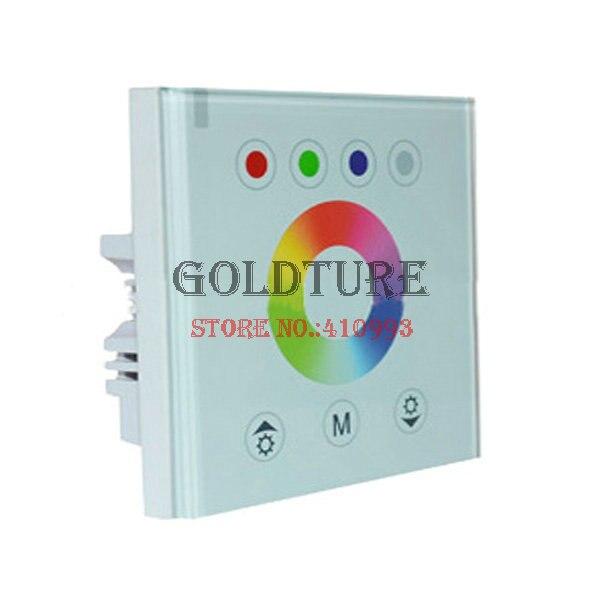 Lampe rvb avec contrôleur de lampe de panneau de LED RGBW 4 et 1 lumière douce bande de contrôle couleur vente directe d'usine