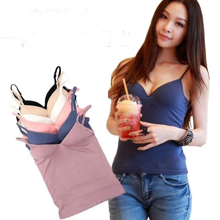 Modal Cotton Adjustable Strap women young girl Bra shirt sport bras - SportWorld-Park store