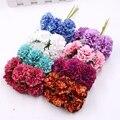 6 шт., искусственные цветы, 3,5 см