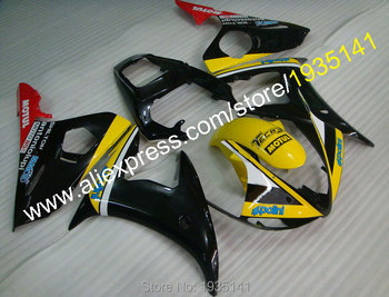 For Yamaha YZF-R6 YZF-600  fairing kit 2005 YZF600 YZFR6 yellow black red bodywork YZF R6  YZF 600 (Injection molding)