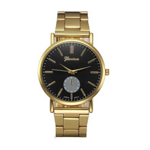 Brand Luxury Crystal Gold Watches Women Ladies Quartz Wristwatches Bracelet Relogio Feminino Relojes Mujer