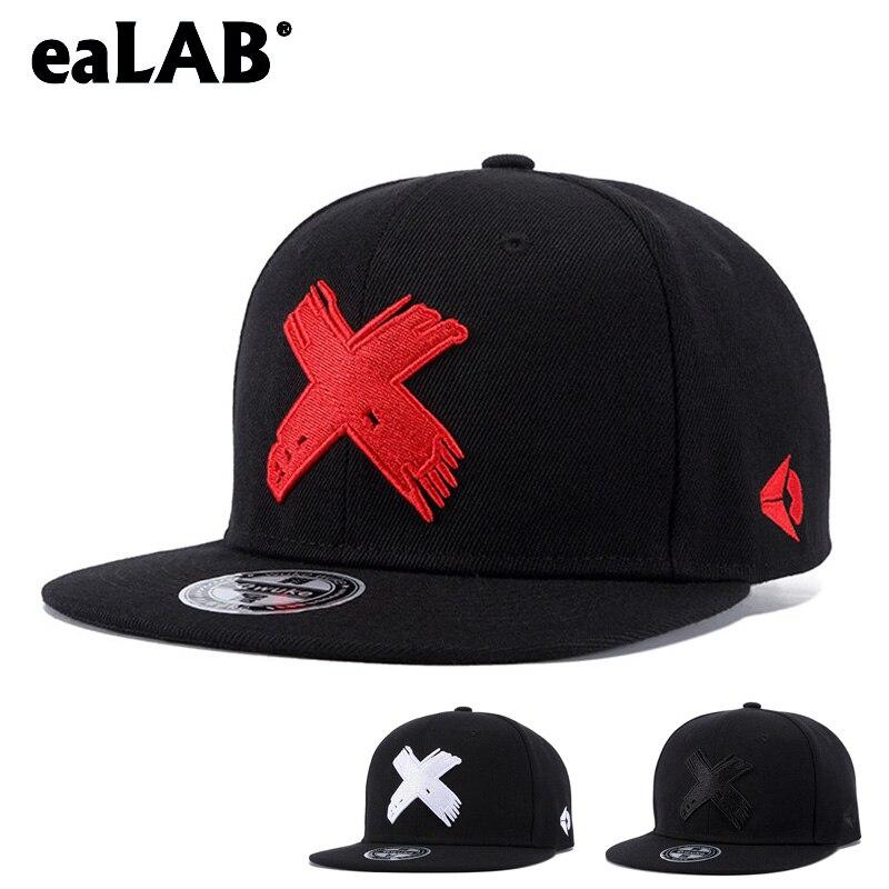 eaLAB Snapback Hip Hop Caps Male Bone Baseball Cap Men Women Hat Female Band Rock Baseball Straight Visor Sports Hats Fitted Cap