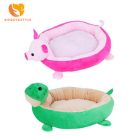 Pet Dog Cat Bed Cute Animal Design Cats Beds House For Large Medium Small Dogs Pet Beds Puppy Kennel Pets House DOGGYZSTYLE