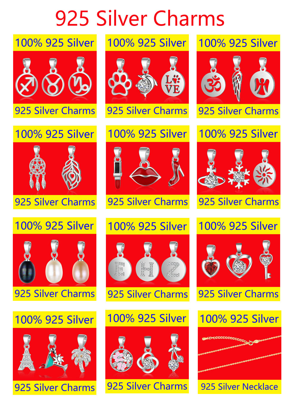 SILVER-CHARMS