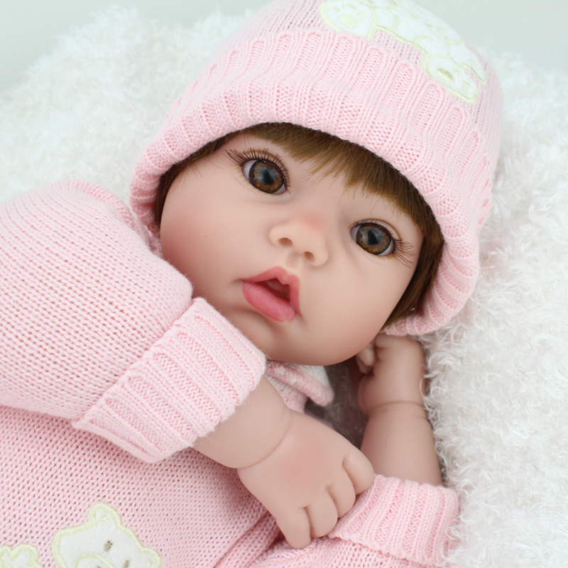 Aliexpresscom buy 50cm doll reborn babies silicone for Reborn doll images