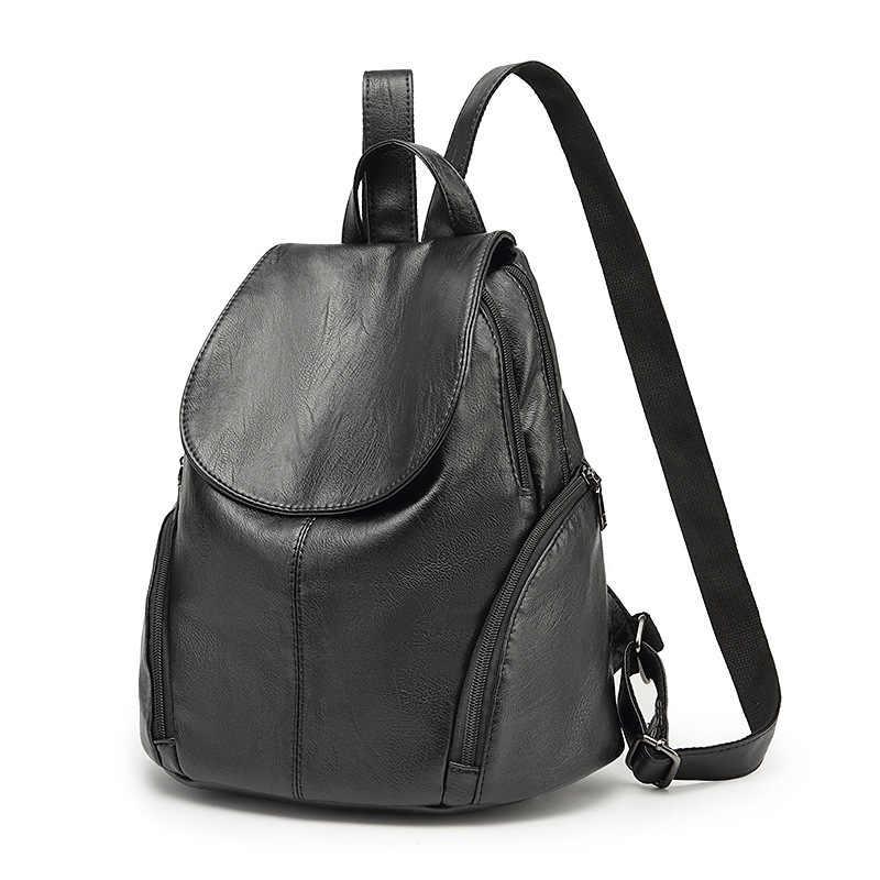 Женский рюкзак из натуральной кожи, женские рюкзаки, школьная сумка в полоску, многофункциональный кожаный рюкзак на плечо, женский новый C626