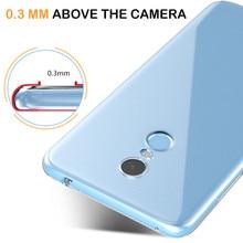 Ultra-thin Clear TPU Phone Case for Xiaomi