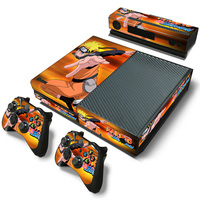 PVC Skin Sticker Custom Decal Cover For XBOX One Console and 2 Controller