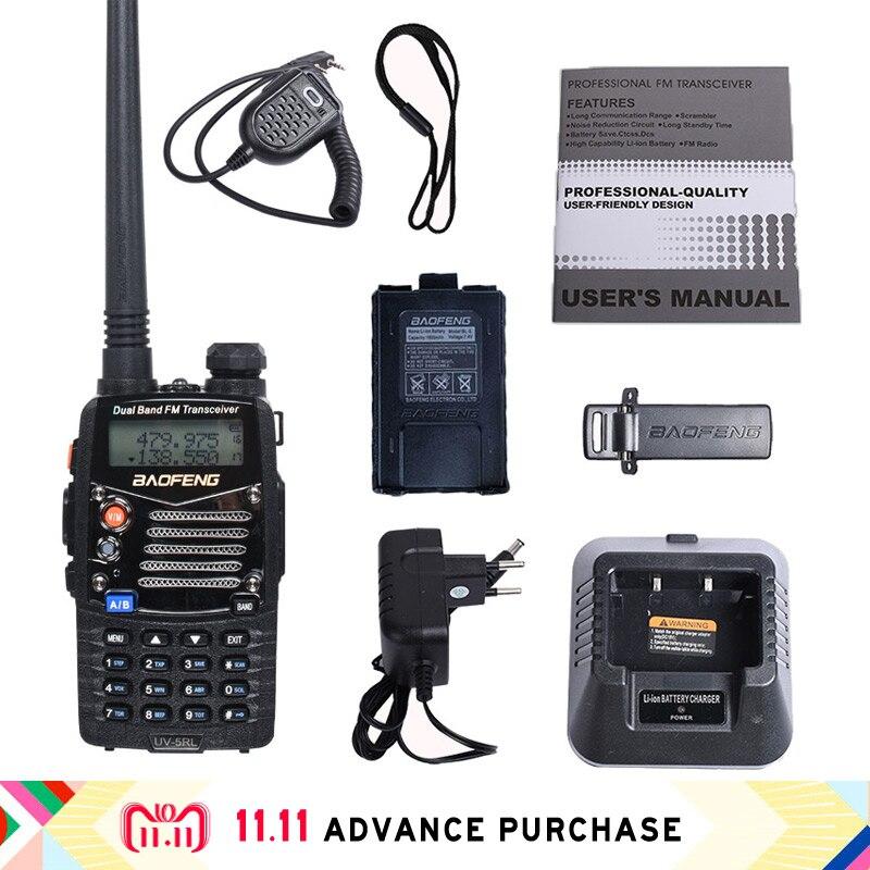 Baofeng 5RL + haut-parleur BF-5R uv-5r version améliorée talkie-walkie portable radio talkie-walkie voiture chasse 10