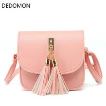 Мода 2018 Малый цепи сумка для женщин кисточки конфетных цветов курьерские Сумки женские сумки на ремне откидная женская сумка Bolsa Feminina