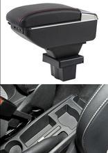 Автомобиля подлокотник вращающийся для Skoda Yeti 14-17 центр консоли ящик для хранения подлокотник 14-17