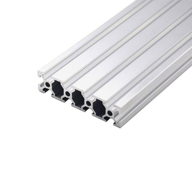 1 шт. 2080 алюминиевый профиль экструзии 100-800 мм длина Европейский стандарт анодированный линейный рельс для DIY ЧПУ 3d принтер верстак