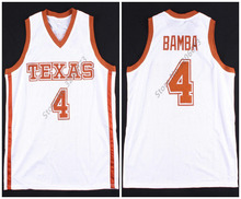 28d59488d  4 Mohamed Mo Bamba Texas Longhorns college Retro Throwback Basketball  Jersey Mens Stitched Custom any