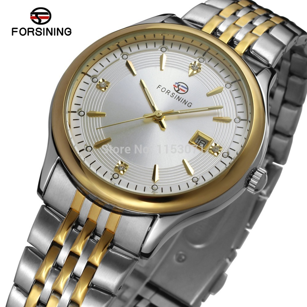 FSG8088Q4T1 new quartz stainless steel bracelet fashion classic <font><b>men</b></font> <font><b>watch</b></font> with with rose gols color <font><b>bars</b></font> index free shipping image