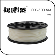 Worldwide Fast Express Within 7 Days Direct Manufacturer 3D Printer Material 1kg 2.2lb 3mm White ASA Filament