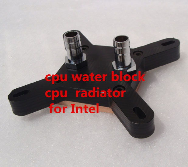 Fast Free Ship cpu water block cpu radiator for intel/for AMD Water-cooled radiator Computer water cooling wi fi роутер tp link eap115